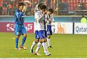 (L-R) Atsushi Kimura, Yasuhito Endo, Yasuyuki Konno (Gamba),.MAY 2, 2012 - Football / Soccer :.Gamba Osaka players (Atsushi Kimura #29, Yasuhito Endo #7 and Yasuyuki Konno #15), look dejected after the AFC Champions League Group E match between Pohang Steelers 2-0 Gamba Osaka at Pohang Steel Yard in Pohang, South Korea. (Photo by Takamoto Tokuhara/AFLO)