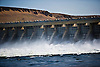 McNary Dam spillway on the Columbia River