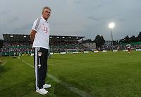 FUSSBALL  DFB POKAL       SAISON 2012/2013 Jahn Regensburg - FC Bayern Muenchen  20.08.2012 Trainer Jupp Heynckes (FC Bayern Muenchen)