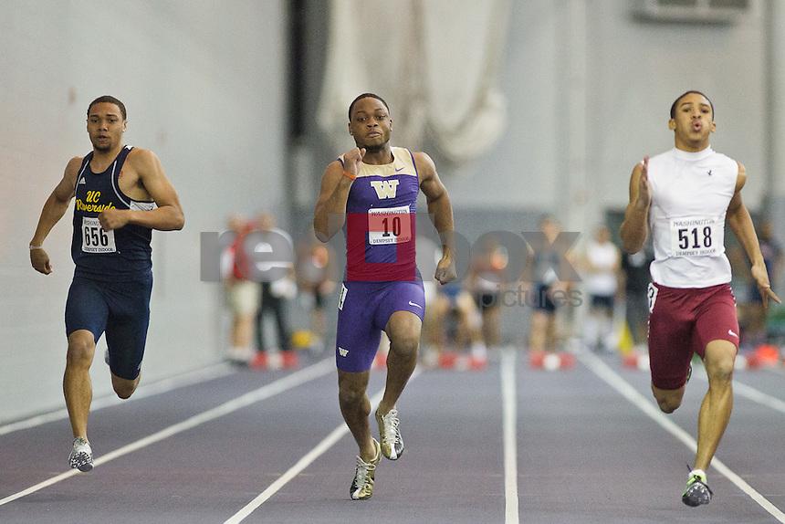 washington indoor track meet results
