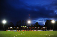 A general view of the Recreation Ground pitch during the match. Aviva A-League match, between Bath United and Wasps A on December 28, 2016 at the Recreation Ground in Bath, England. Photo by: Patrick Khachfe / Onside Images
