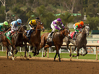 ARCADIA, CA  MARCH 4: The field at the start of the Santa Ysabel Stakes (Grade lll) on March 4, 2017 at Santa Anita Park in Arcadia, CA.  (Photo by Casey Phillips/Eclipse Sportswire/Getty Images)
