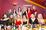 KCFE beauty Therapy year 2 students enjoying a Christmas Get together at Ristorante Uno on Saturday Front l-r Sarah Leahy, Christina O Carroll, Teresa Ward, Chloe Heaphy, Lucy Baker, Emma O Gorman, Back l-r Jackie Leahy, Taylor O'Gorman, Yvonne Slevin, Siobhan Gilbert, Sinead Hilliard, Grace Canavan