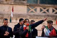 Manifestazione dei Forconi a Piazza del Popolo, Roma