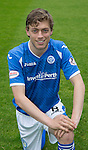 St Johnstone FC Photocall, 2015-16 Season....03.08.15<br /> Murray Davidson<br /> Picture by Graeme Hart.<br /> Copyright Perthshire Picture Agency<br /> Tel: 01738 623350  Mobile: 07990 594431