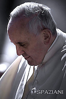 General audience Pope Francis in St. Peter's Square at the Vatican. May 14, 2014