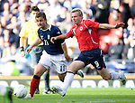 Shaun Maloney and Bjorn Helge Riise