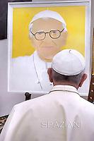 Pope Francis Argentina President Cristina Fernandez President Latvia Andris Berzinsat. Sept.20,2014
