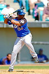 18 March 2006: Juan Tejeda, infielder for the New York Mets, at bat during a Spring Training game against the Washington Nationals at Space Coast Stadium, in Viera, Florida. The Nationals defeated the Mets 10-2 in Grapefruit League play...Mandatory Photo Credit: Ed Wolfstein Photo..