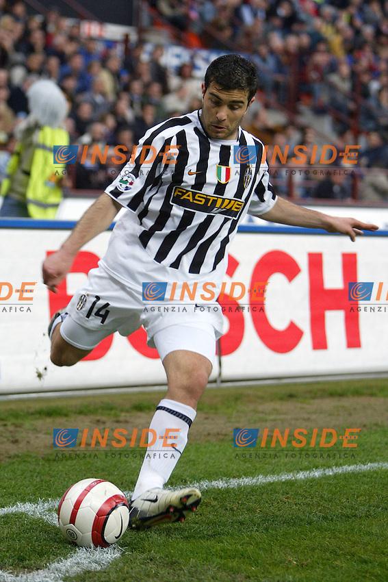 Milano 4/4/2004 Campionato Italiano Serie A 28a Giornata - Matchday 28<br /> Inter Juventus 3-2 <br /> Enzo Maresca (Juventus)<br /> Foto Andrea Staccioli Insidefoto
