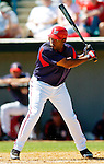 15 March 2006: Marlon Anderson, infielder for the Washington Nationals, at bat during a Spring Training game against the New York Mets. The Mets defeated the Nationals 8-5 at Space Coast Stadium, in Viera, Florida...Mandatory Photo Credit: Ed Wolfstein..