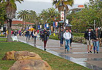 UCSB Rainy Day