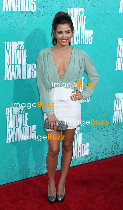 Jenna Dewan, The 2012 MTV Movie Awards held at the Gibson Amphitheatre (Universal City, CA)..Los Angeles, June 3, 2012.
