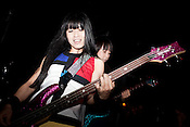 October 25, 2011. Durham, NC.. Shonen Knife played a reunion show with The Ghost of Rock at the Pinhook..