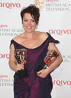 UK: BAFTA TV Awards 2013 Press Room