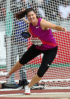 Stephanie Brown-Trafton at the Samsung Diamond League. Paris,France Friday, July  16, 2010. Photo by Errol Anderson.