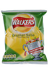 Packet of Walkers World Cup Brazilian Salsa Flavour Crisps - May 2010