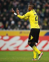 FUSSBALL   1. BUNDESLIGA   SAISON 2011/2012    15. SPIELTAG Borussia Moenchengladbach - Borussia Dortmund        03.12.2011 Felipe Santana (Borussia Dortmund)