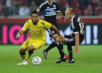 Fussball 1. Bundesliga :  Saison   2011/2012   Liga Total Cup  20.07.2011 Borussia Dortmund - Hamburger SV Ilkay Guendogan (li, Borussia Dortmund) gegen David Jarolim (re, Hamburger SV)