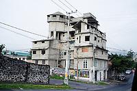 A building in the Ajusco, Mexico City, Mexico