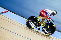 Picture by Charlie Forgham-Bailey/SWpix.com - 04/03/2016 - Cycling - 2016 UCI Track Cycling World Championships, Day 3 - Lee Valley VeloPark, London, England - Anastasiia Voinova of Russia competing in, and winning, the Women's 500m Time Trial Final