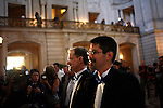 Stuart Gaffney and John Lewis celebrate their marriage at San Francisco's City Hall, in San Francisco, CA, on Tuesday, June 17, 2008. The couple has been together for 21 years.