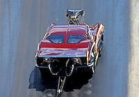 Jun 18, 2016; Bristol, TN, USA; NHRA pro mod driver Chuck Little during qualifying for the Thunder Valley Nationals at Bristol Dragway. Mandatory Credit: Mark J. Rebilas-USA TODAY Sports