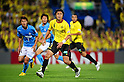 (R-L) Hideaki Kitajima (Reysol), Kenichi Kaga (Jubilo), JUNE 15th, 2011 - Football : 2011 J.League Division 1 match between Kashiwa Reysol 0-3 Jubilo Iwata at Hitachi Kashiwa Soccer Stadium in Chiba, Japan. (Photo by AFLO).