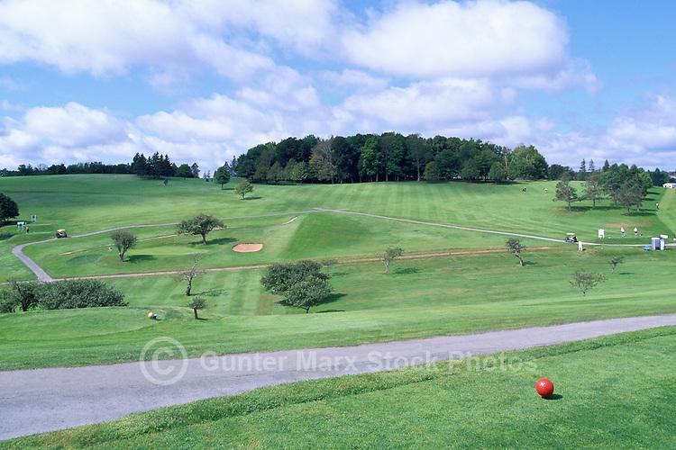 Lunenburg, NS, Nova Scotia, Canada - Bluenose Golf Course at Kaulbach Head, South Shore Region