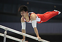 Koji Yamamuro (JPN), JULY 2, 2011 - Artistic gymnastics : Japan Cup 2011 Men's Team Competition Parallel Bars at Tokyo Metropolitan Gymnasium, Tokyo, Japan. (Photo by YUTAKA/AFLO SPORT) [1040]