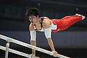 Koji Yamamuro (JPN), JULY 2, 2011 - Artistic gymnastics : Japan Cup 2011 Men's Team Competition Parallel Bars at Tokyo Metropolitan Gymnasium, Tokyo, Japan. (Photo by YUTAKA/AFLO SPORT) [1040]
