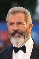 VENICE, ITALY - SEPTEMBER 04: Mel Gibson attends the premiere of 'Hacksaw Ridge' during the 73rd Venice Film Festival at Sala Grande on September 4, 2016 in Venice, Italy.<br /> CAP/GOL<br /> &copy;GOL/Capital Pictures /MediaPunch ***NORTH AND SOUTH AMERICAS ONLY***