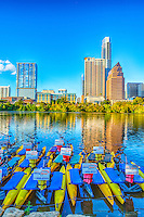 Who knew that you could ride a bike on water, what next walking on water.  Well austin has a lot of activities around ladybird lake and water bikes are just one of the many recreational things to do in austin.  There is always something to fun to do in downtown austin for the in shape as well as the out of shape.