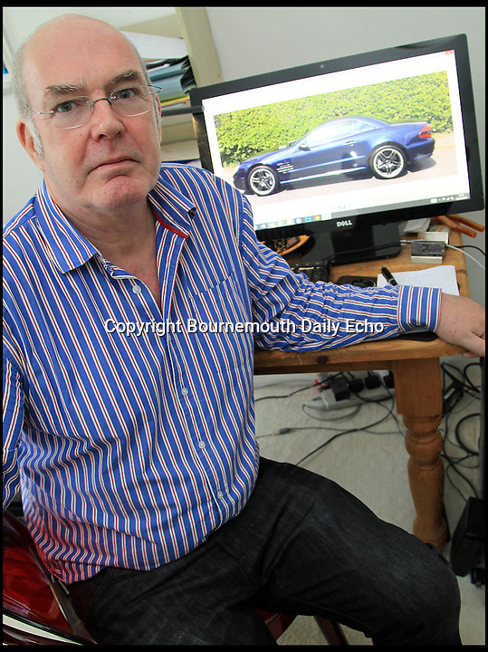 BNPS.co.uk (01202 558833)<br /> Pic:JohnGuest/BNPS<br /> <br /> ***Please use full byline***<br /> <br /> John Guest(56).<br /> <br /> A unique Mercedes that cost &pound;168,000 when new has been written off after its unfortunate owner dropped it into his local garage for a service.<br /> <br /> John Guest(56) from Poole in Dorset had taken his pride and joy into Sandown Group Mercedes for minor electrical fault - but was shocked to recieve a call hours later saying a technician had written off the 630hp V12 supercar.