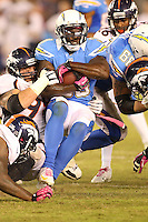 10/15/12 San Diego, CA: San Diego Chargers running back Ronnie Brown #30 during an NFL game played between the San Diego Chargers and the Denver Broncos at Qualcomm Stadium. The Broncos defeated the Chargers 35-24.