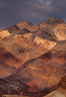 739650009 colored sandstone formations in the grapevine mountains in death valley national park californai