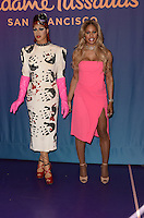 LOS ANGELES, CA - OCTOBER 13: Laverne Cox unveils restyled wax figure as Dr. Frank N. Furter from The Rocky Horror Picture Show at Madame Tussauds, Los Angeles, California on October 13, 2016. Credit: David Edwards/MediaPunch