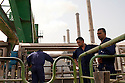 Factory workers man a water pumping station at the Doura power plant August 26, 2010 in Baghdad, Iraq. Residents of Baghdad still experience severe power shortages and rolling blackouts daily as capacity has been outpaced by demand.  .