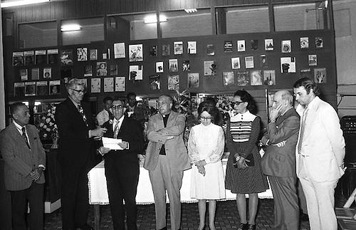 Interior de la Librería Dominicana. 14 de febrero de 1973. © OGM