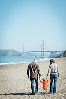 Yanofsky Family Photos | Baker Beach The Presidio of San Francisco