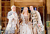 The Barber of Seville <br /> by Rossini <br /> English National Opera, London Coliseum, London, Great Britain <br /> Rehearsal <br /> 25th September 2015 <br /> <br /> <br /> Eleazar Rodriguez as Count Almaviva <br /> <br /> Kathryn Rudge as Rosina <br /> <br /> Morgan Pearce as Figaro <br /> <br /> <br /> <br /> Photograph by Elliott Franks <br /> Image licensed to Elliott Franks Photography Services