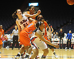 Ole Miss vs. Auburn in women's college basketball at the C.M. &quot;Tad&quot; SMith Coliseum in Oxford, Miss. on Thursday, February 25, 2010.