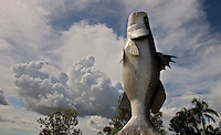 Giant fish in the sky of Laura AU