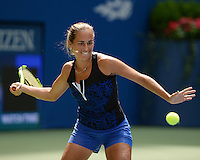 FLUSHING NY- AUGUST 27: Monica Puig attends Arthur Ashe kids day at the USTA Billie Jean King National Tennis Center on August 27, 2016 in Flushing Queens. Photo MPi04 / MediaPunch