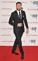 Aaron Taylor-Johnson at the &quot;Nocturnal Animals&quot; 60th BFI London Film Festival Headline gala screening, Odeon Leicester Square cinema, Leicester Square, London, England, UK, on Friday 14 October 2016.<br /> CAP/CAN<br /> &copy;CAN/Capital Pictures /MediaPunch ***NORTH AND SOUTH AMERICAS ONLY***