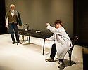 MY PERFECT MIND, created by Told By An Idiot, written by Kathryn Hunter, Paul Hunter and Edward Petherbridge, opens at the Young Vic theatre. Picture shows: Edward Petherbridge and Paul Hunter.
