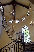 Rotunda with iron railing