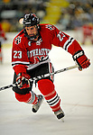 18 January 2008: Northeastern University Huskies' forward Chris Donovan, a Sophomore from Fairfax Station, VA, in action against the University of Vermont Catamounts at Gutterson Fieldhouse in Burlington, Vermont. The two teams battled to a 2-2 tie in the first game of their 2-game weekend series...Mandatory Photo Credit: Ed Wolfstein Photo
