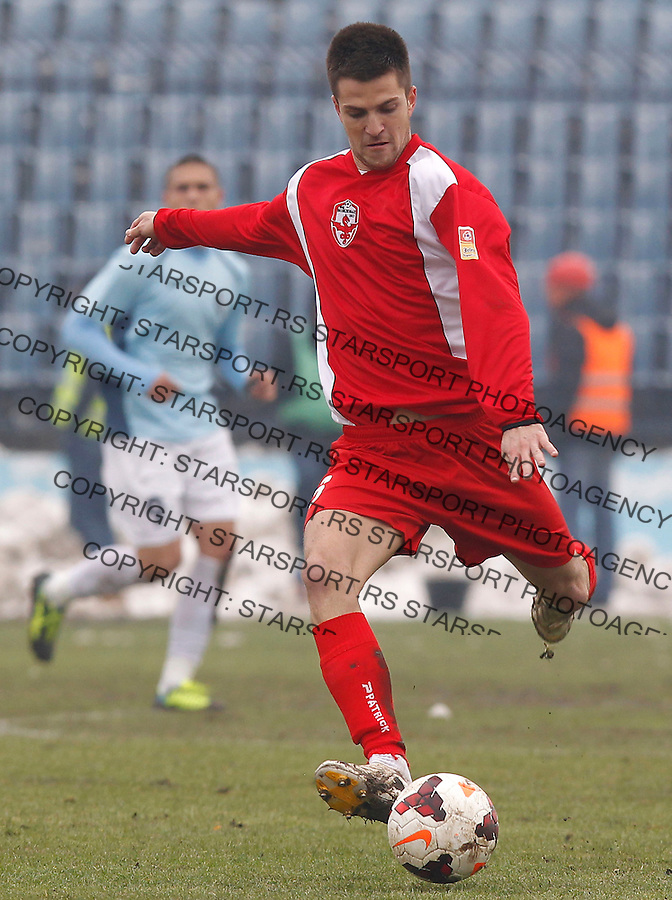 Fudbal Super liga season 2013-2014<br /> Rad v Vozdovac<br /> Slobodan Lalic<br /> Beograd, 01.12.2013.<br /> foto: Srdjan Stevanovic/Starsportphoto &copy;