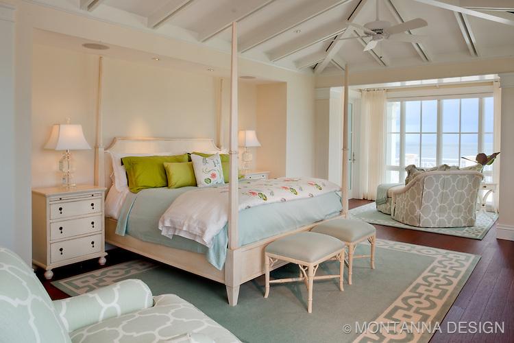 Light airy master suite montanna associates interior for Airy bedroom designs